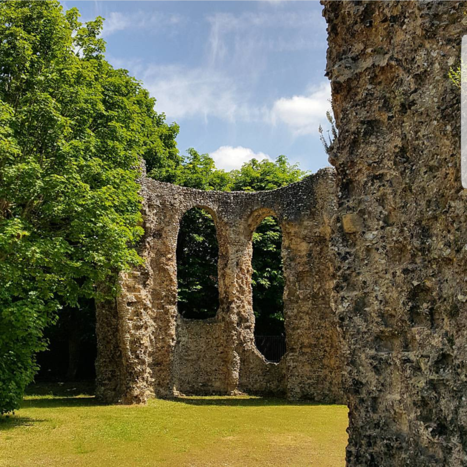 Abbey Ruins Reading